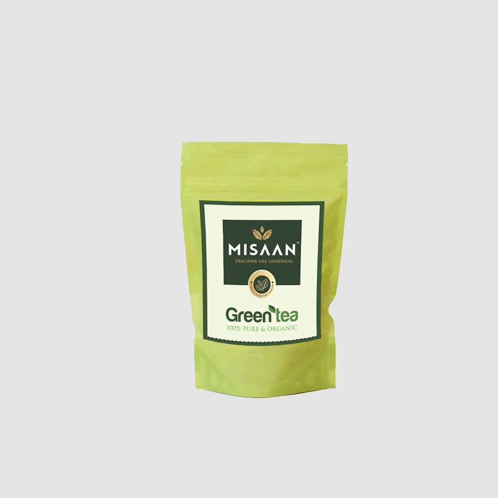 Green Tea Small Pouch